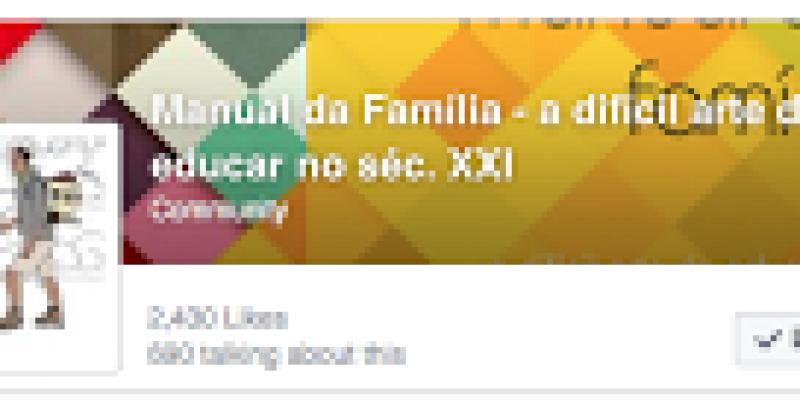 Manual da Família no Facebook