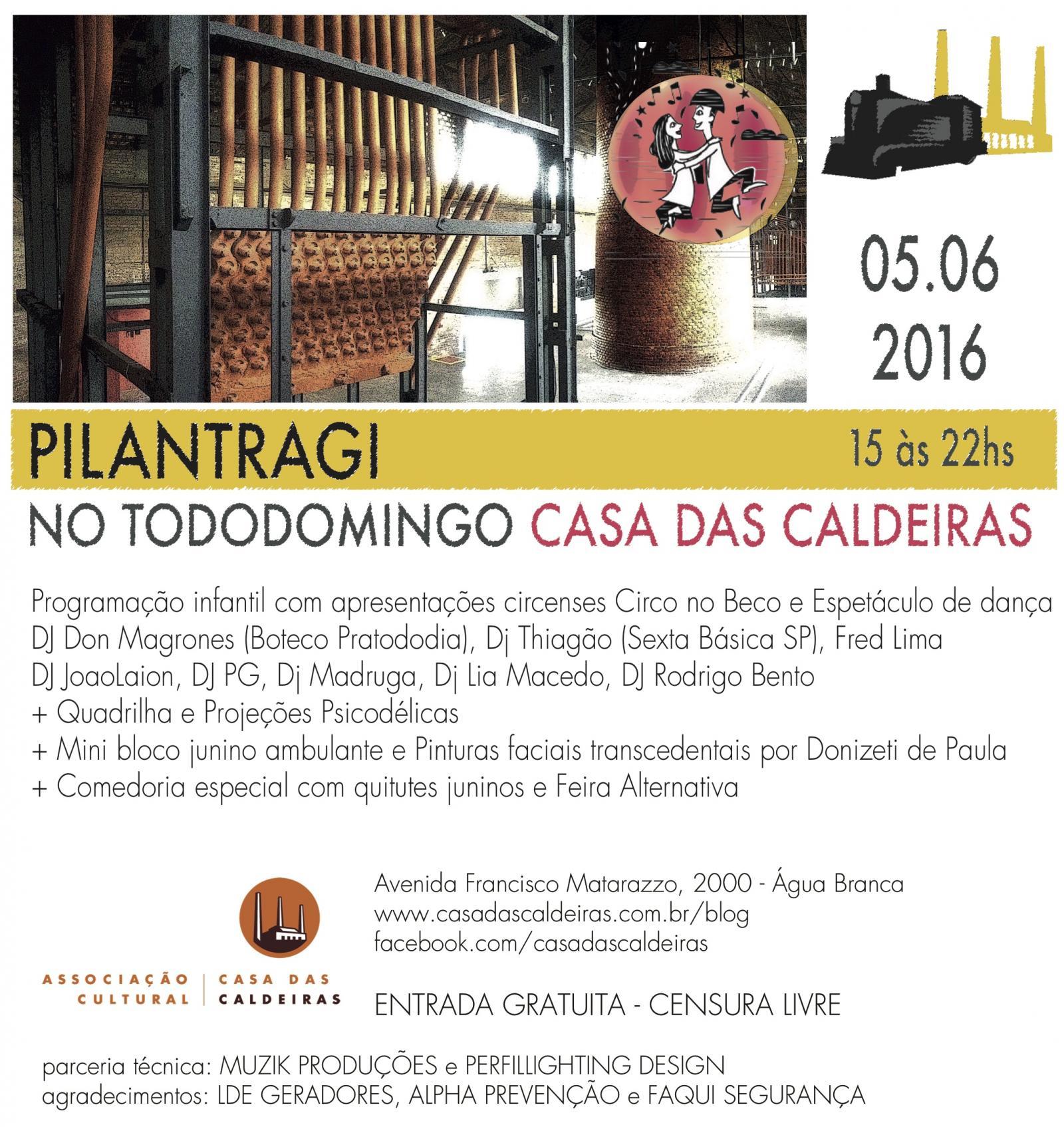 Pilantragi - edição especial de festa junina