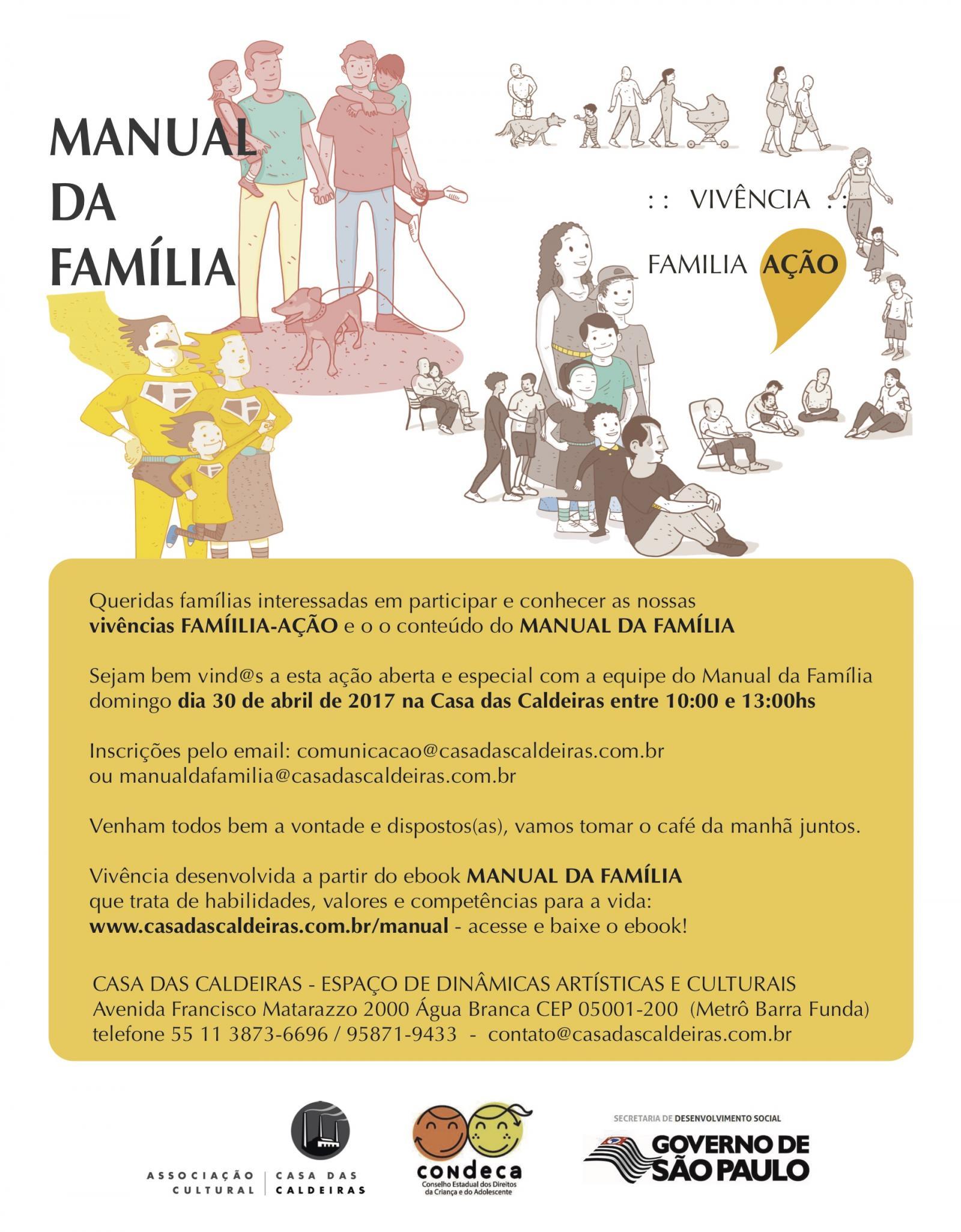 convite para famílias - Tododomingo especial
