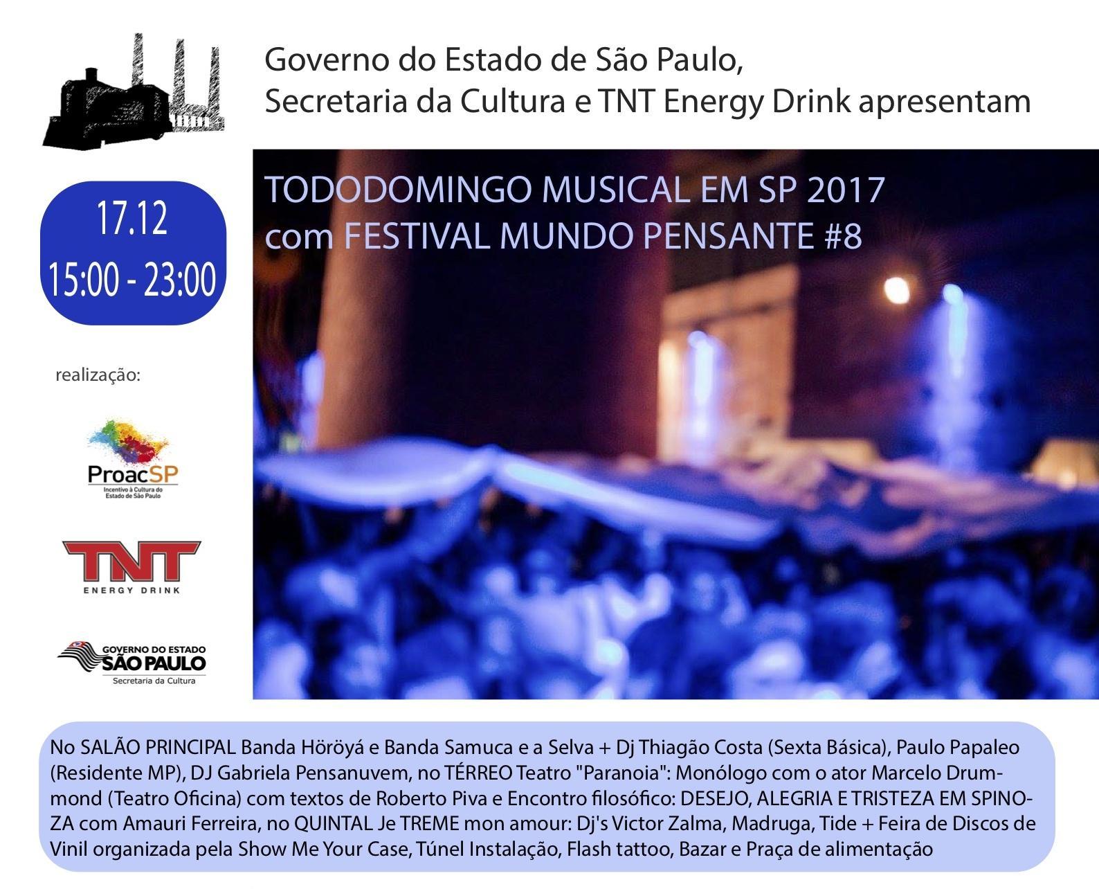 FESTIVAL MUNDO PENSANTE 17.12