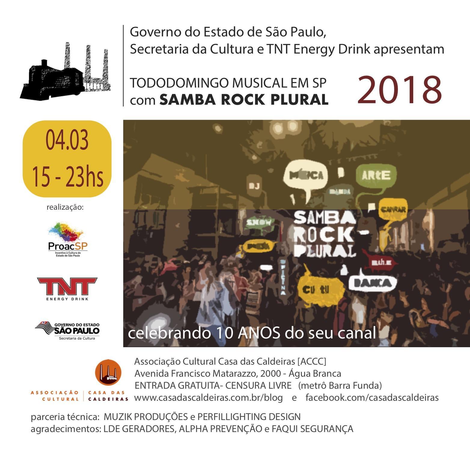 Samba Rock na Veia - 04.03